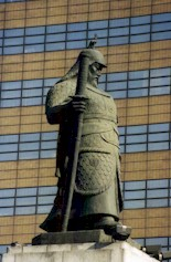 Admiral Yi Sun-shin, he of the Turtle Boats